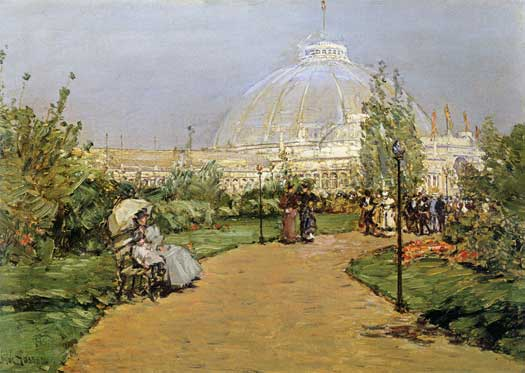 Crystal Palace, Childe Hassam