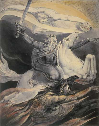Death on a Pale Horse, William Blake