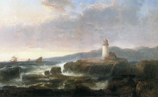 Desert Rock Lighthouse, Thomas Doughty