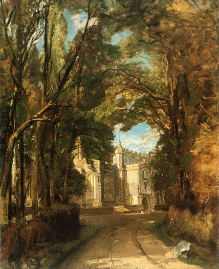 East Bergholt Church, Constable