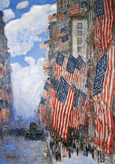 Fourth of July, 1916, Childe Hassam