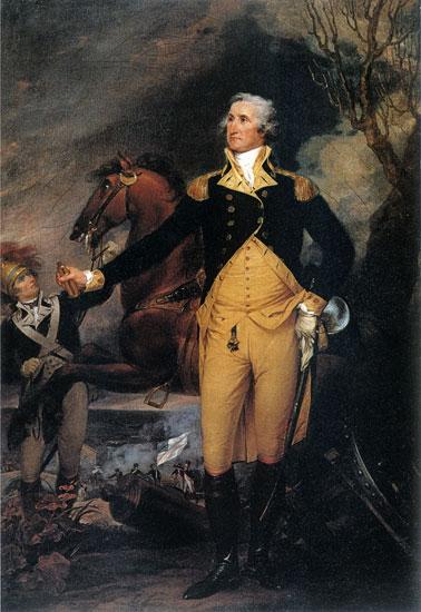 George Washington Before the Battle of Trenton, John Trumbull