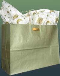Gift shop wrapping options