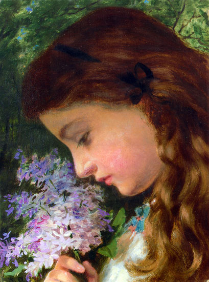 Girl with a Lilac, Sophie Anderson