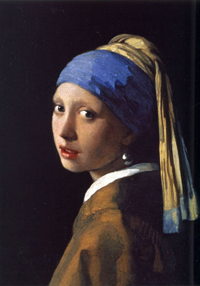 Girl with the Pearl Earring, Johannes Vermeer