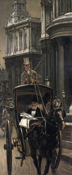 Going to Business, James Joseph Jacques Tissot