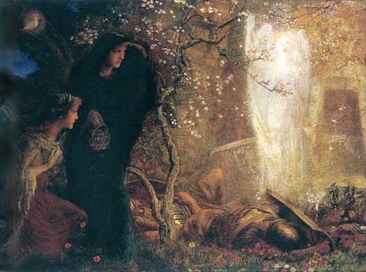 He is Risen -The First Easter, Arthur Hughes