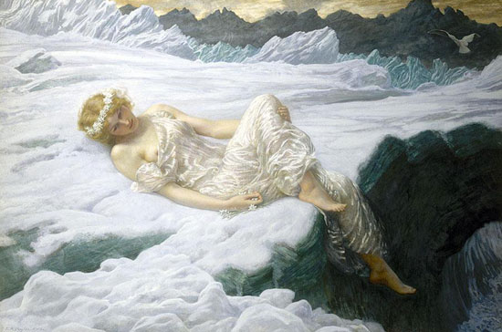 Heart of Snow, Edward Robert Hughes