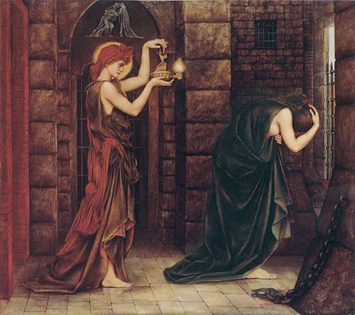 Hope in the Prison of Despair, Evelyn De Morgan