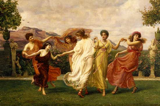 Horae Serenae (detail), Sir Edward John Poynter