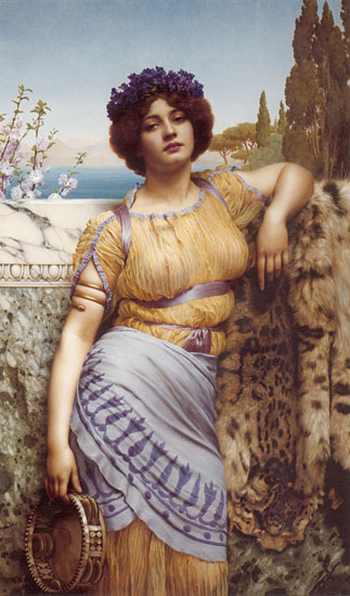Ionian Dancing Girl, by John William Godward