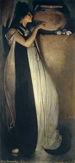 Isabella and the Pot of Basil, John White Alexander