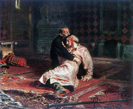 Ivan the Terrible and His Son Ivan, Repin