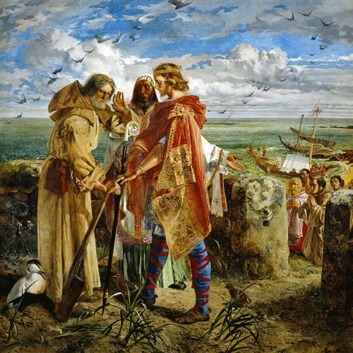 King Egfrid, Northumbria - William Bell Scott