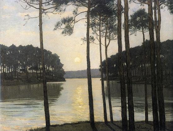 Lake Schlachtensee, Walter Leistikow