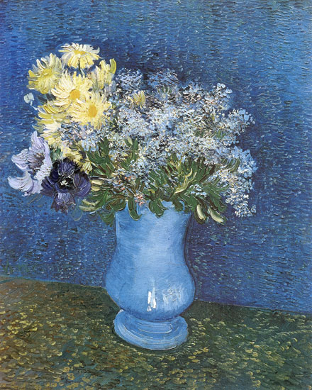 Lilacs, Marguerites and Anemones, Vincent van Gogh