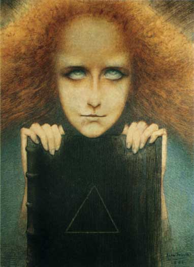 Madame Stuart Merrill, Jean Delville