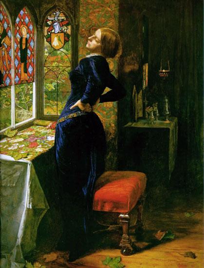 Mariana in the Moted Grange, Sir John Everett Millais