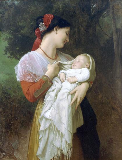 Maternal Admiration, William-Adolphe Bouguereau