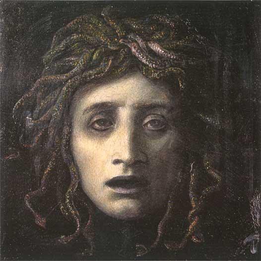 Medusa, Arnold Böcklin