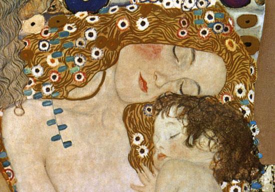 Mother and Child, Gustav Klimt