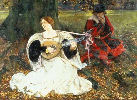 My Fair Love, Edwin Austin Abbey