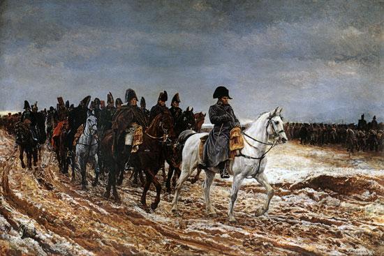Napoleon on Campaign, Meissonier
