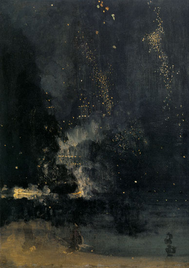 Nocturne in Black and Gold, James McNeal Whistler