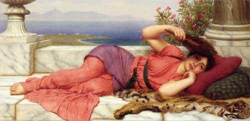 Noonday Rest, John William Godward