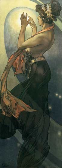 North Star, Alphonse Mucha