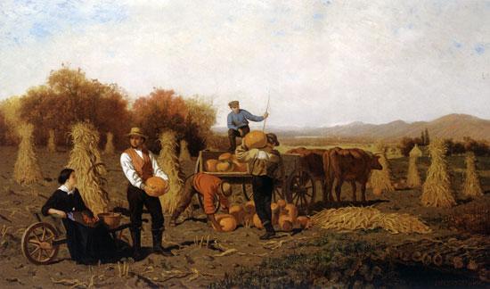 October, John Whetten Ehninger