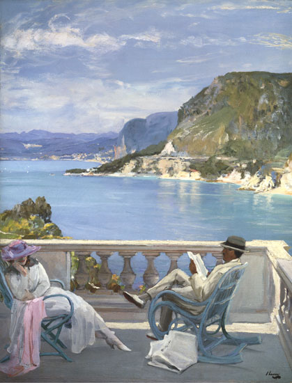 On the Riviera, Sir John Lavery