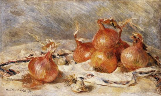 Onions, Auguste Renoir
