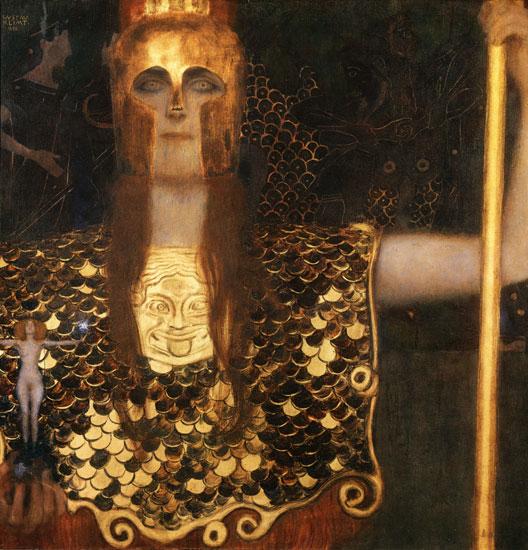 Pallas Athene, Gustav Klimt