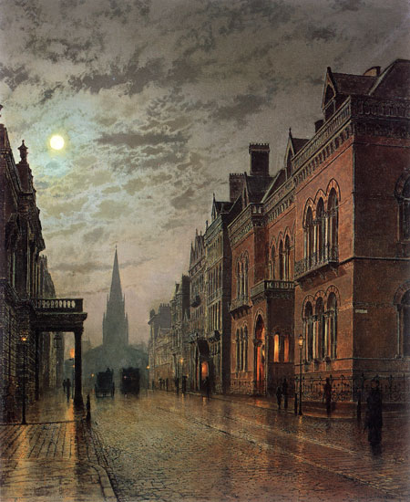 Park Row, Leeds, John Atkinson Grimshaw