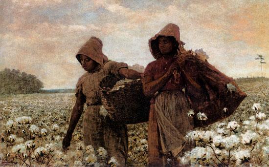 Picking Cotton, Winslow Homer
