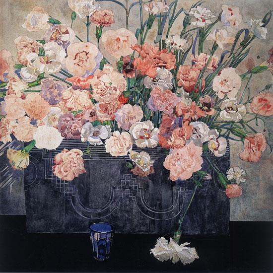 Pinks, Charles Rennie MacIntosh