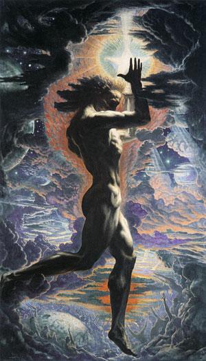 Prometheus, Jean Delville