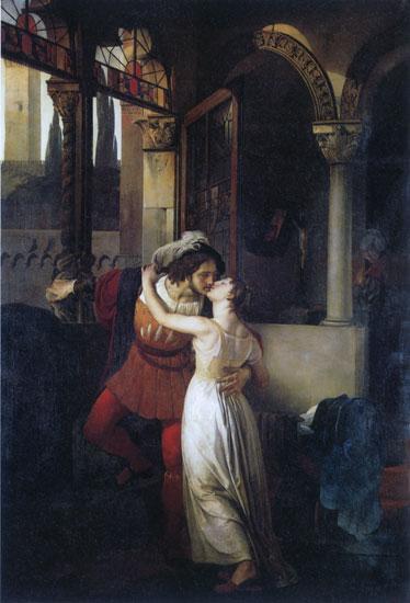 Romeo and Juliet, Hayez