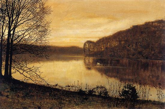 Roundhay Lake, Leeds, Grimshaw