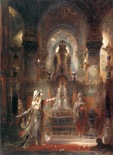Salome Dancing Before Herod, Gustave Moreau