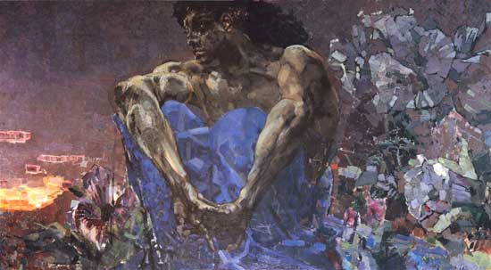 Seated Demon, Mikhail Alexandrovich Vrubel