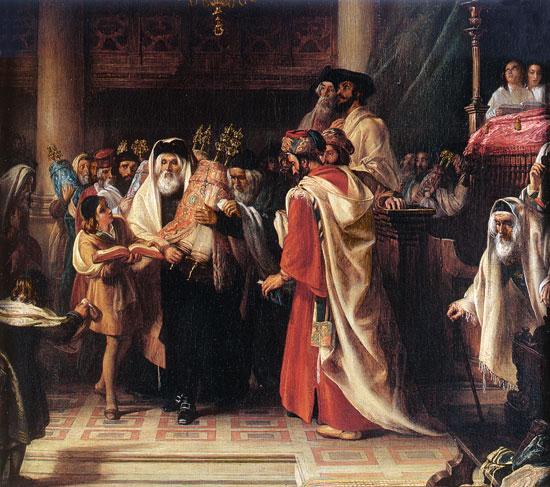 Simbat Torah, The Procession of the Law, Solomon Alexander Hart