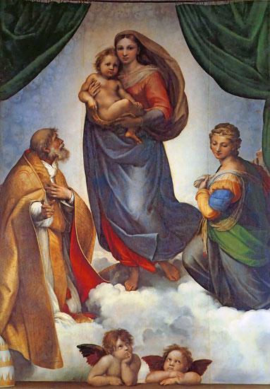 Sistine Maddona, Raphael