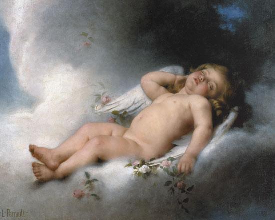 Sleeping Angel, Leon Jean Basile Penault