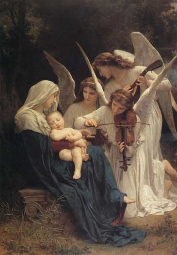 Song of the Angels, William-Adolphe Bouguereau