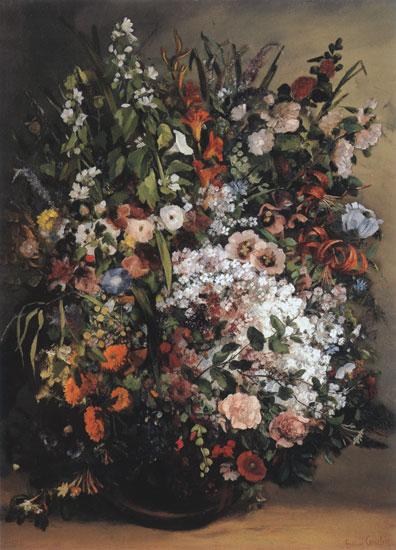 Spring Bouquet, Gustave Corbet
