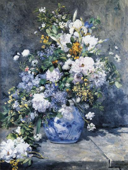 Spring Bouquet, Pierre Aguste Renoir