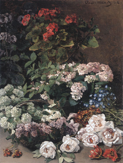 Spring Flowers, Monet