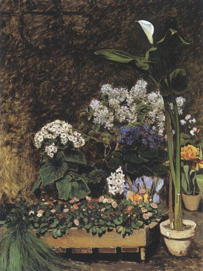 Spring Flowers, Pierre Aguste Renoir